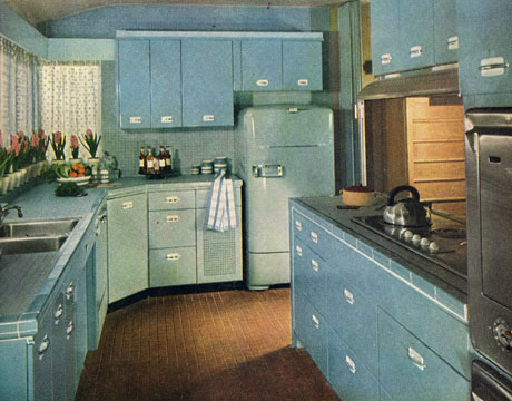 A Touch Of Retro 1950s Kitchen Design Elements Swankyshoestring - Retro-kitchen-design-you-never-seen-before